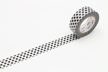 MT Washi Tape | Dot Black