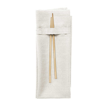 Organic Cotton Napkin | White