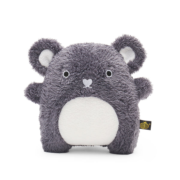 Plush Toy Bear | 'Ricecoal' by Noodoll | Grey