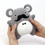 Plush Toy Koala | 'Ricedapper' by Noodoll | Grey