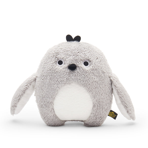 Plush Toy Penguin | 'Ricekating' by Noodoll | Grey