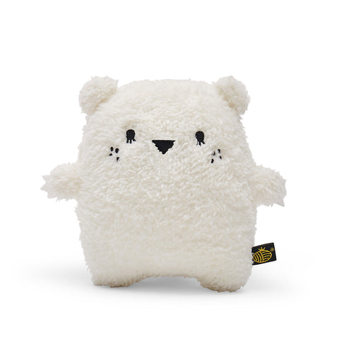 Plush Toy Polar Bear | 'Ricecube' by Noodoll | White