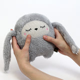 Plush Toy Sloth | 'Riceless' by Noodoll | Grey