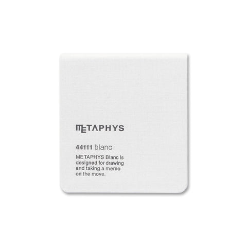 Metaphys Blanc Mini Memo Notebook 44111 | White