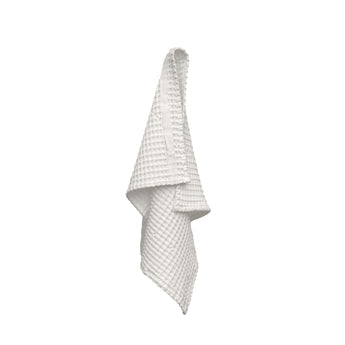 Organic Cotton Hand Towel | Waffle Weave | White