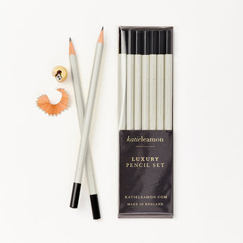 Luxury Pencil Set | Pale Grey