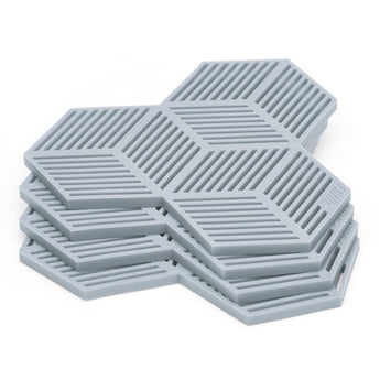 Silicone Trivets | Grey