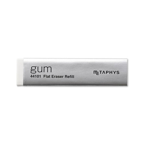 Metaphys Gum Eraser Refill | White