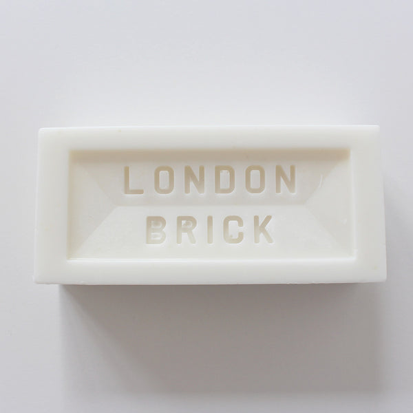 London Brick Bar Soap | White
