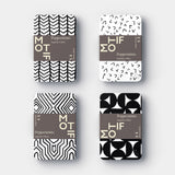 Peppermint Tins by Motif | Black and White
