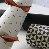 Luxury Christmas Crackers | Monochrome | Black and White