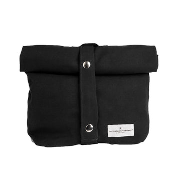 Canvas Lunch Bag | Organic Cotton | Black