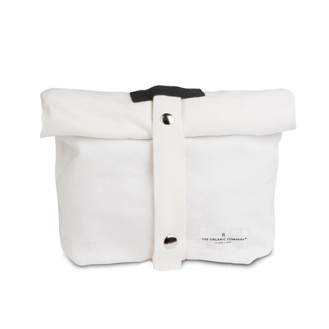 Canvas Lunch Bag | Organic Cotton | White