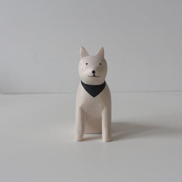 Wooden Animals by T-Lab Japan | Dog - Akita