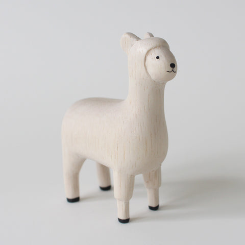 Wooden Animals by T-Lab Japan | Alpaca