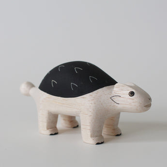 Wooden Animals by T-Lab Japan | Ankylosaurus