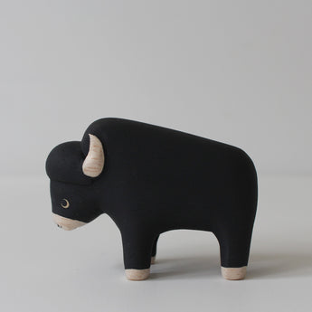 Wooden Animals by T-Lab Japan | Bison