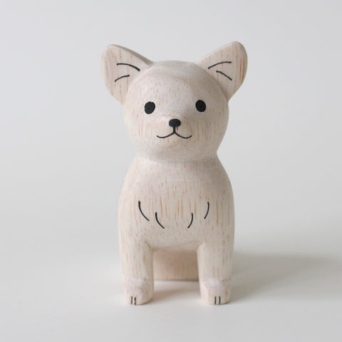 Wooden Animals by T-Lab Japan | Dog - Chihuahua