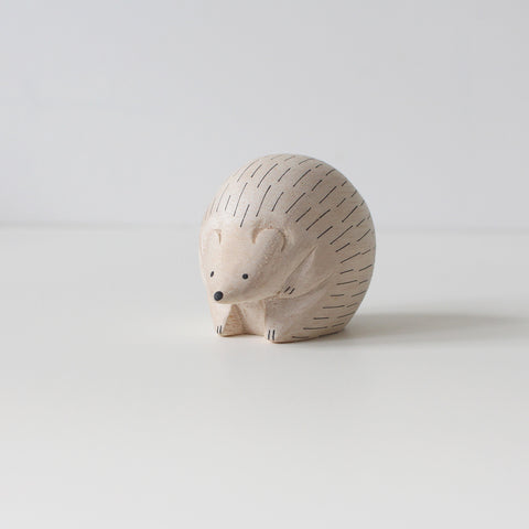Wooden Animals by T-Lab Japan | Hedgehog