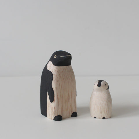 Wooden Animals by T-Lab Japan | Penguin Set