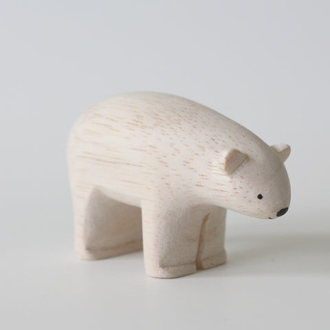 Wooden Animals by T-Lab Japan | Polar Bear
