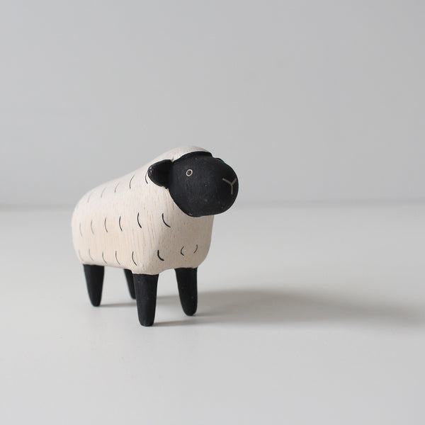 Wooden Animals by T-Lab Japan | Sheep