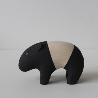Wooden Animals by T-Lab Japan | Tapir
