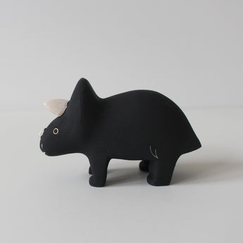 Wooden Animals by T-Lab Japan | Triceratops