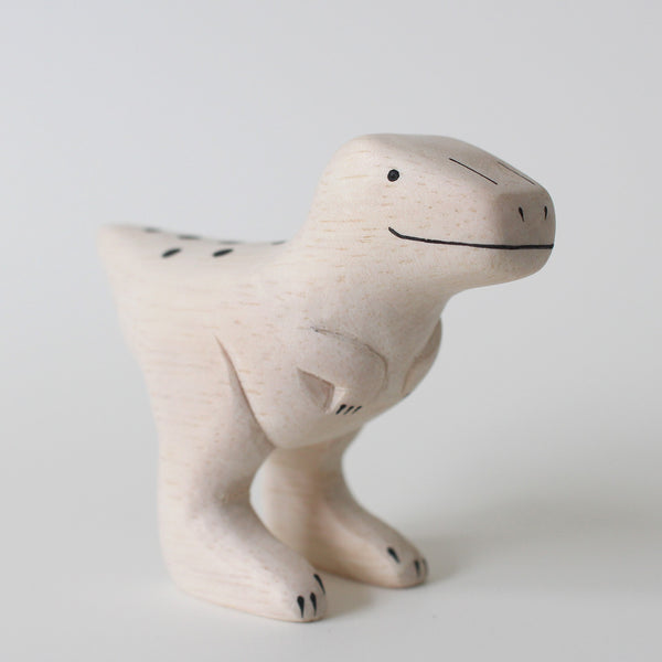 Wooden Animals by T-Lab Japan | Velociraptor