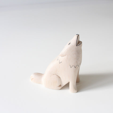 Wooden Animals by T-Lab Japan | Wolf