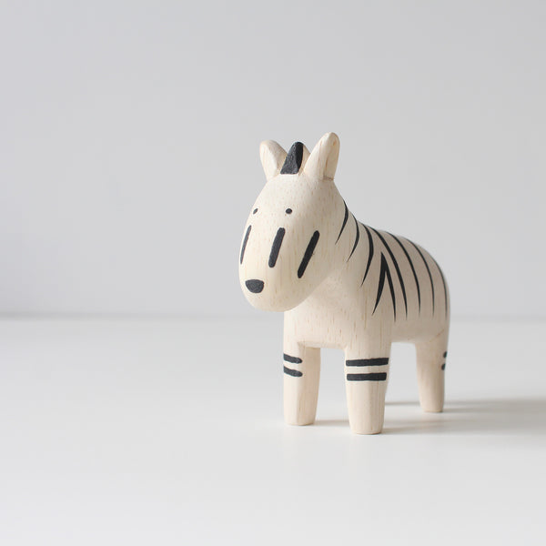 Wooden Animals by T-Lab Japan | Zebra