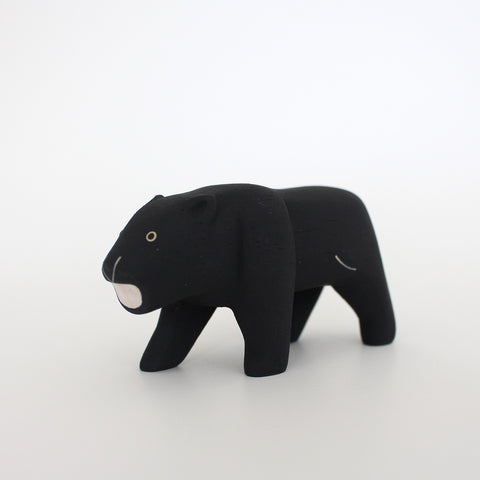 Wooden Animals by T-Lab Japan | Black Panther