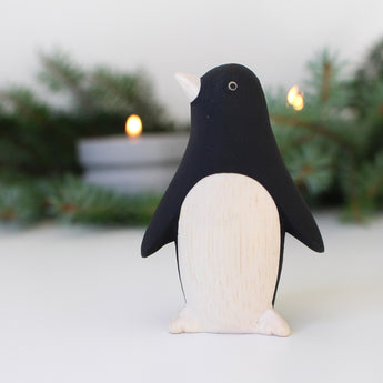 Wooden Animals by T-Lab Japan | Penguin