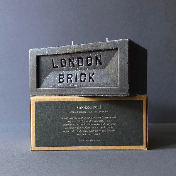 London Brick | Scented Candle | Black