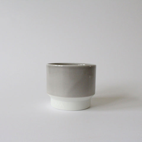 Porcelain Tea / Coffee Cup | Small | Pastel Grey