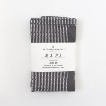 Organic Cotton Little Towel | Evening (Dark) Grey