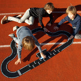 Flexible Road Toy by Waytoplay | Grand Prix - 24 pieces | Black and White