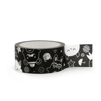 Monster Craft Tape by Noodoll | Black and White
