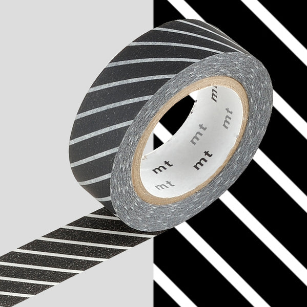 MT Washi Tape | Stripe Black