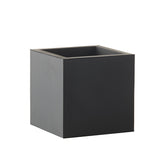 Extra Small Square Pot | Rubber | Black