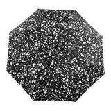 Duckhead Compact Umbrella | 'Composition' | Black & White