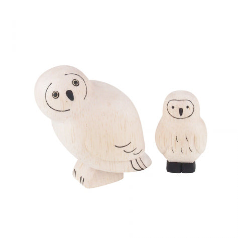 Wooden Animals by T-Lab Japan | Owl Set