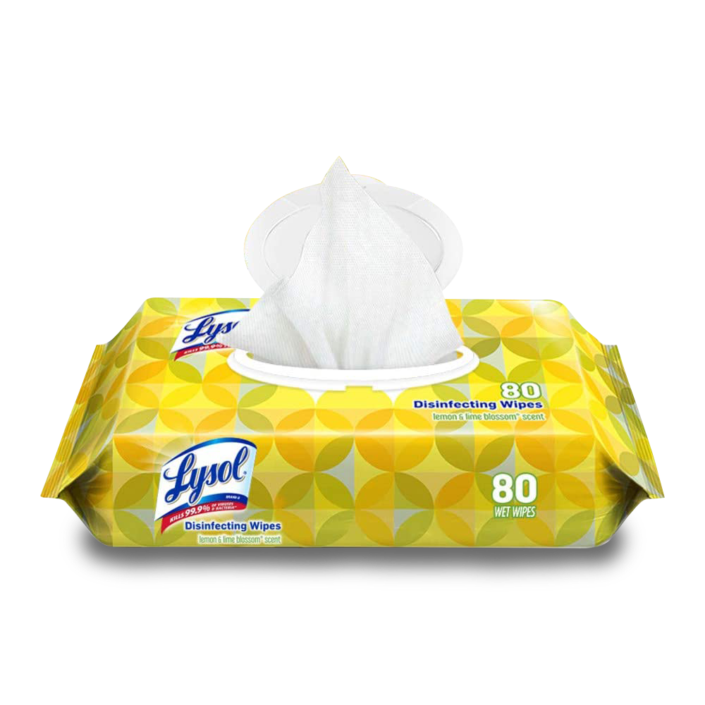 Lysol Handi-Pack Disinfecting Wipes 80 Wet Wipes per pack