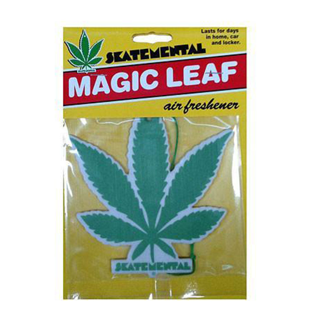 Skate Mental - Magic Leaf Air Freshener - Plazashop