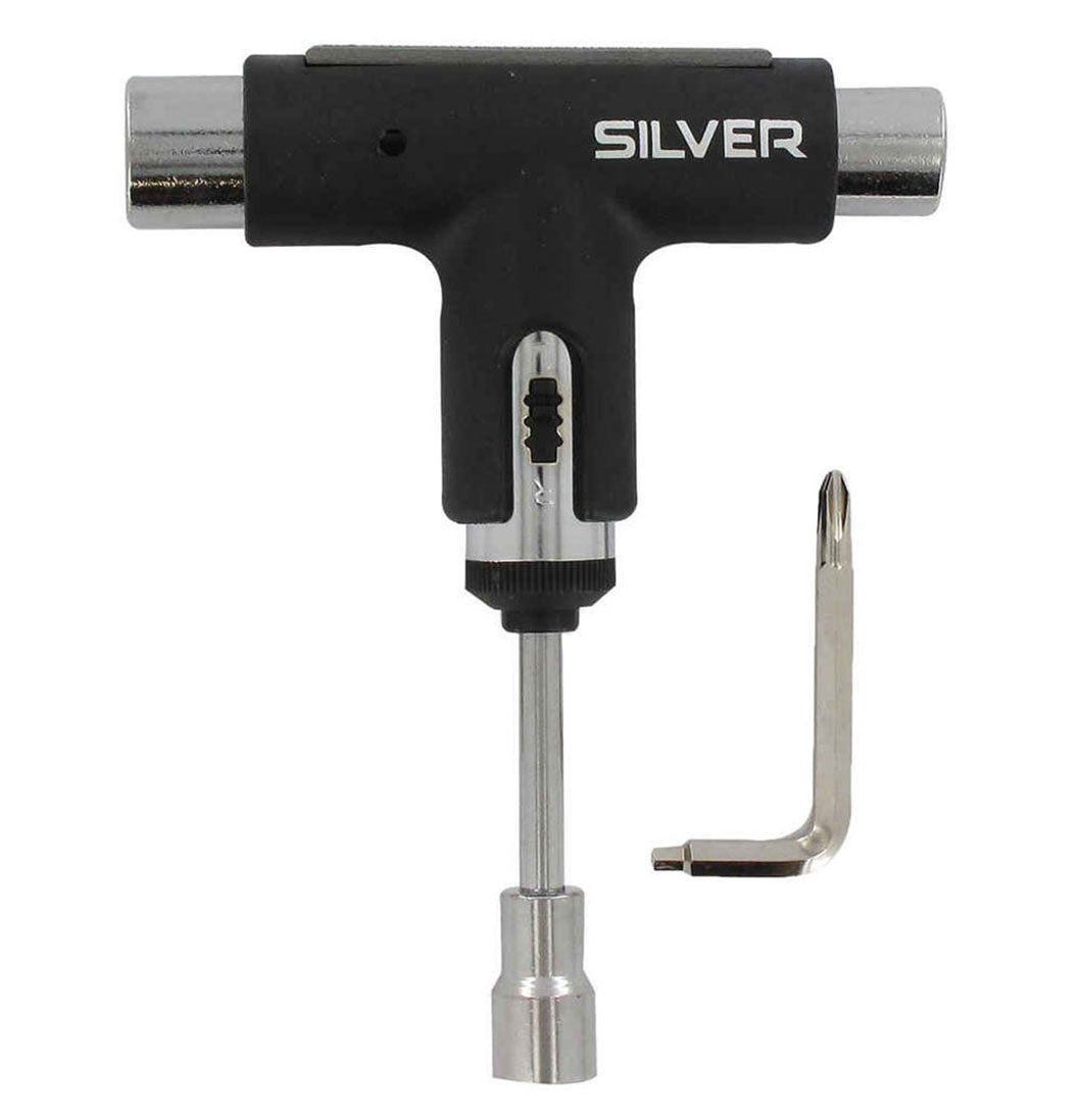 Silver - Skate Tool (Black) - Plazashop