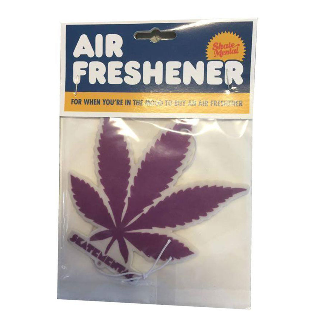 Skate Mental - Magic Leaf Purple Air Freshener - Plazashop