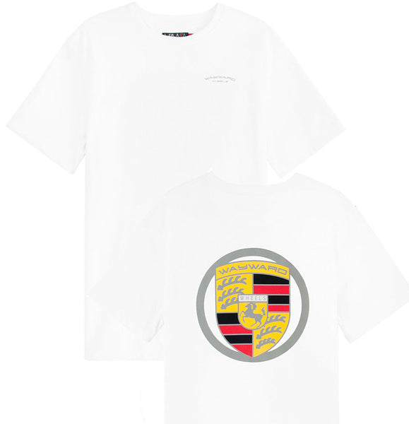 Wayward - Badge Tee (White) - Plazashop
