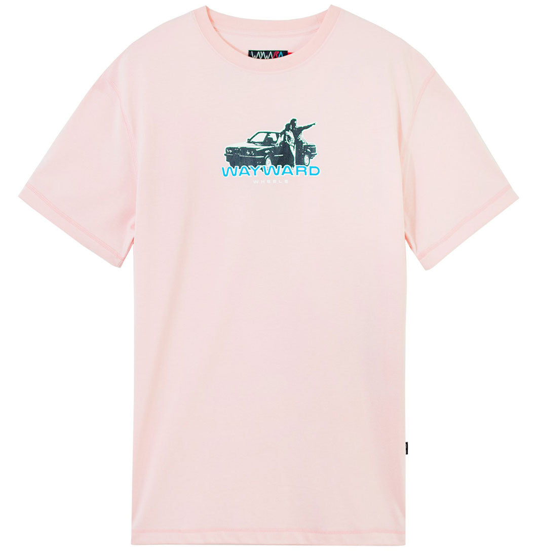 Wayward - Beamer Tee (Light Pink) - Plazashop