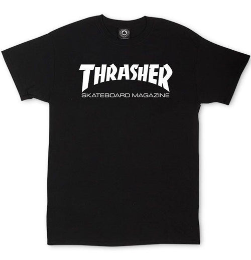 Thrasher - Skate Mag Logo Tee (Black) - Plazashop
