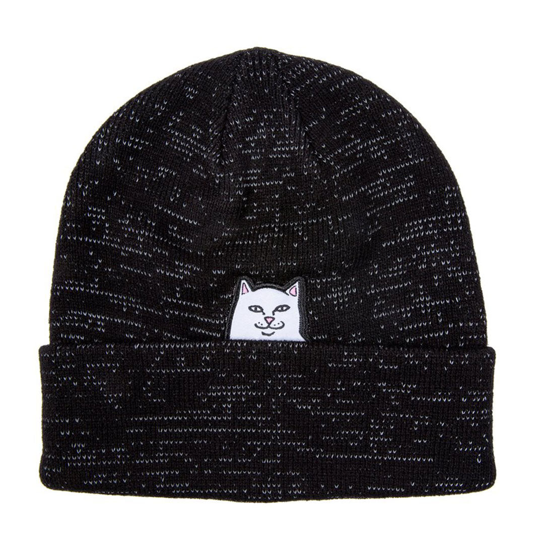RIPNDIP - Lord Nermal Reflective Beanie (Black Reflective) - Plazashop